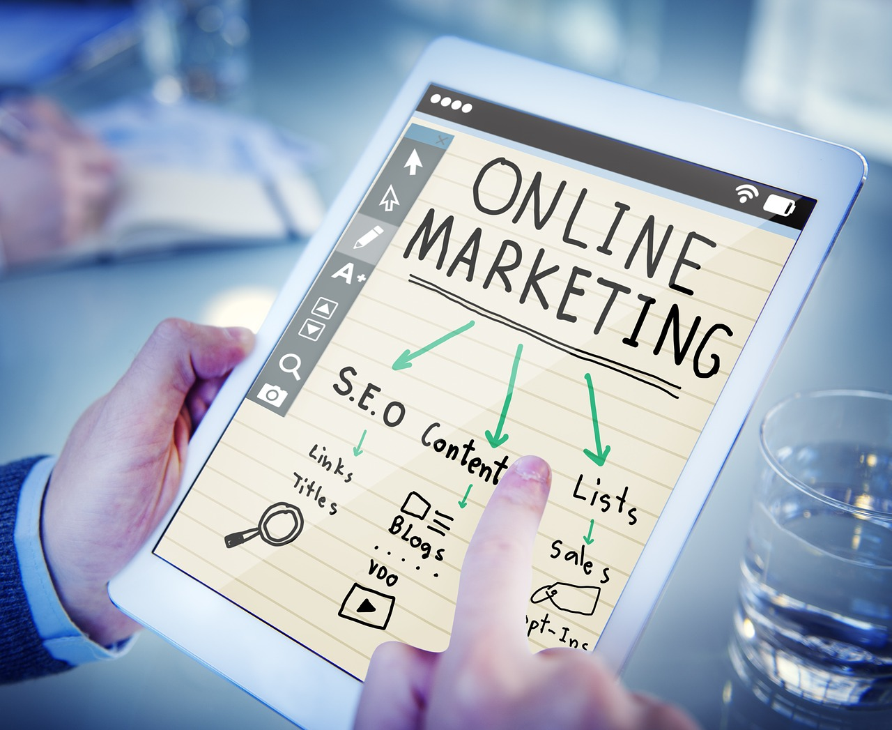 Digital Online Marketing DelJenLane Enterprises